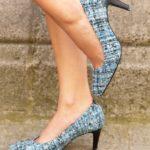 Soulyé_Escarpins Diane Bleu Azul