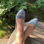 Soulyé_Escarpins Diane Tweed Blue