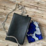 Soulyé_Tissia Pochette_ASNoir Wax BleuBlc