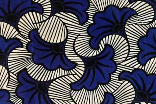 Soulyé_Wax Bleu Blanc